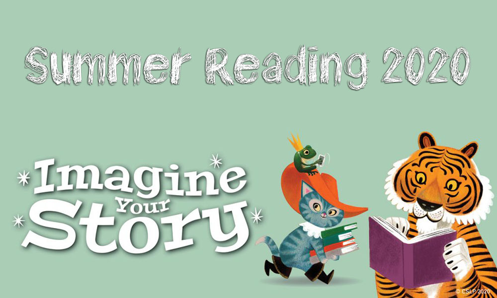 Imagine Your Story Summer Reading Club——CONTINUES!!!!